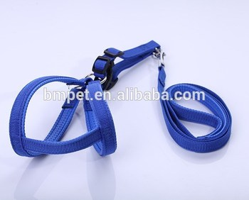 Pet Product Durable and Comfortable Polyester Pet Leash with Harness Neoprene for Medium and Large Dog