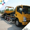 ATOP middle duty 8.0T flat bed rollback car carrier truck with 700P NPR hydraulic brake chassis flat bed wrecker tow truck