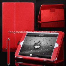 Red Smart Cover PU Leather Magnetic Stand Folio Case Wake Sleep For iPad Mini,Minion Despicable Me 2 Case For iPad Mini