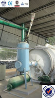 Scrap Tyre/rubber oil pyrolysis machine with professional engineer team made in india