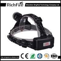 waterproof head light to wear, vehicle head lighting, superbright 600lm xm-l t6 led head torch