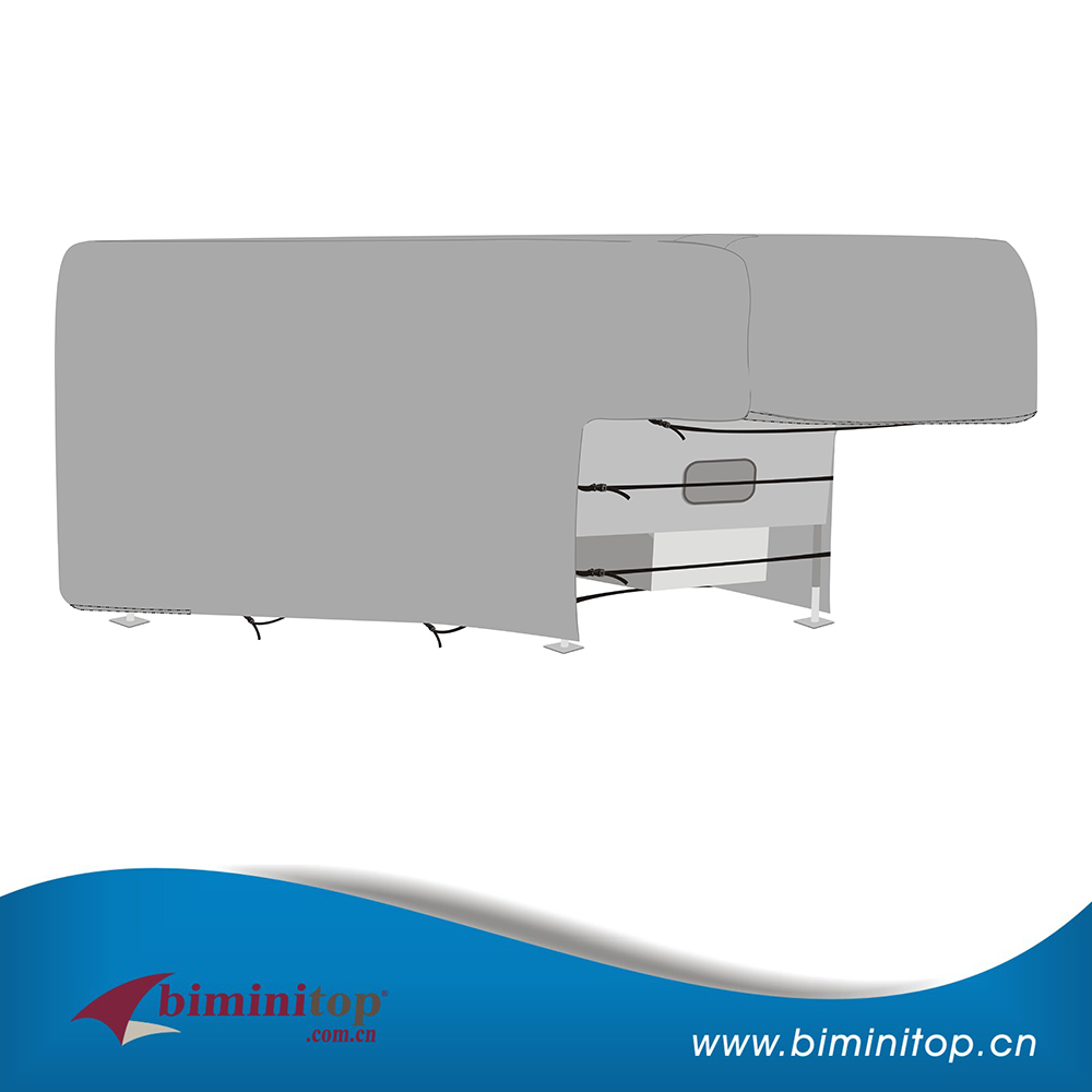 Light Grey Truck Camper Cover Made Of Polyester Fabric Light Grey Truck  Camper Cover Made Of. Truck Camper Rv Cover Suppliers China
