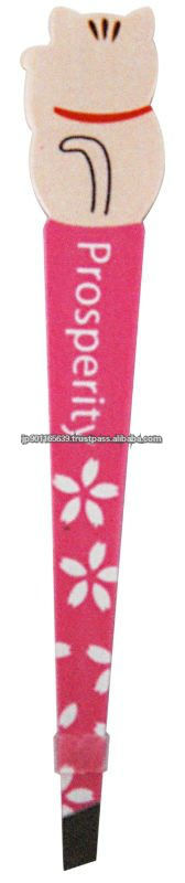 Wholesale Manekineko Tweezer LOVE designed in JAPAN tweezers for eyebrows