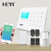 New Design Best products auto gsm app smart home burglar security alarm system with one call button for elder