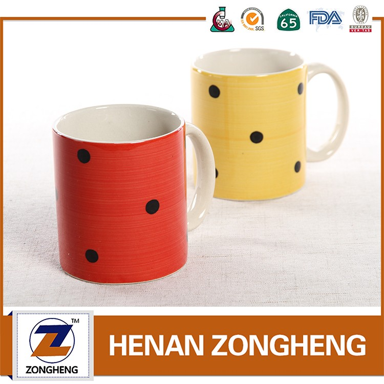 wave point stoenware of mugs 12oz from zongheng henan michelle ren