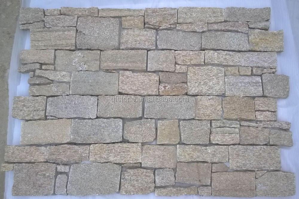 Wall Decorative Stone Natural Yellow Slate Interior Stone Panels Buy Natural Yellow Slate