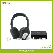 Special design wireless TV headphone with dual channels