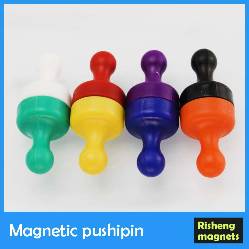 Neodymium Magnetic pushpin Push pin Magnets for Whiteboard or Fridge