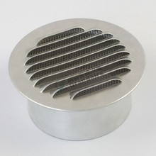 Waterproof Air Vent Cover, Air Return Duct Grille,Air Container Ventilation Metal Vent Cap