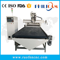 auto-loading and auto-unloading CNC wood Routers 1325 with tool magzine
