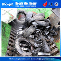 Plastic Double-shaft Shredder blade for plastic/tyre/electronic product/film/woven bag/wood