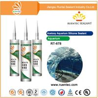 Low Silicone Sealant Price/High Grade Aquaria Sealing Acetic Silicone Sealant