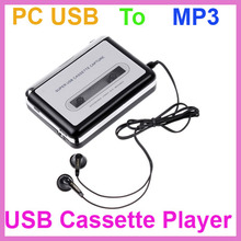 High Quality Tape to PC USB Cassette-to-MP3 Converter Capture Audio Music Player Free Shipping Wholesale