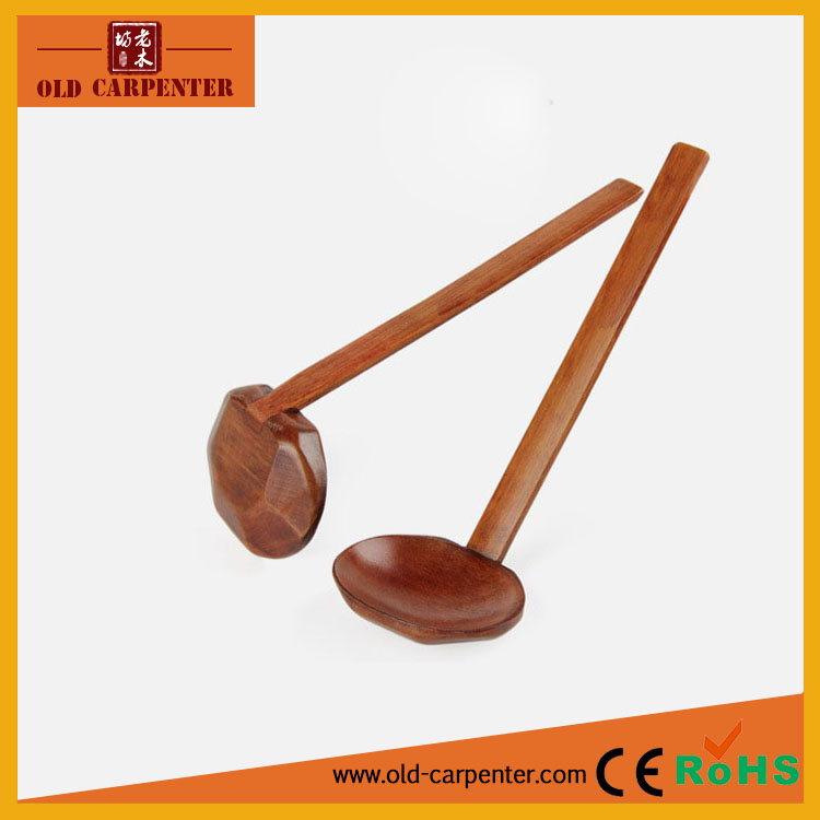 Factory wholesale 2016 wood soup spoon /small wood colander