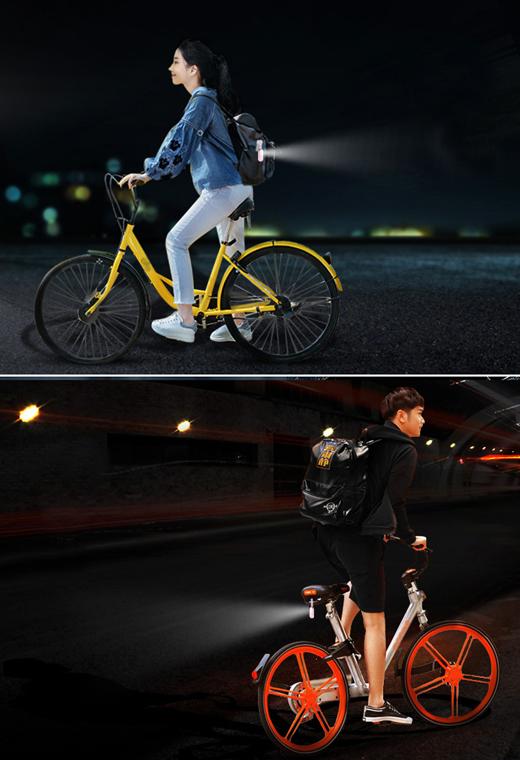 2018 News Hot sale high quality bike light silicone Flashing Bicycle Light
