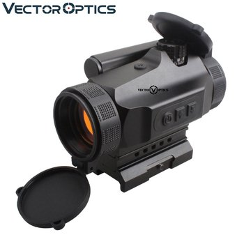 Vector Optics Tactical Nautilus 1x30 16 Levels Auto Brightness Compact Red Dot Sight Rifle Scope with Digital Switch