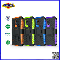 shockproof hard case hybrid cover for galaxy s5 mini laudtec