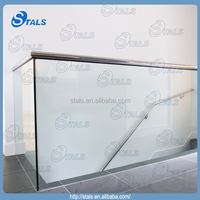 tempered glass screen protector frameless glass railing hardware