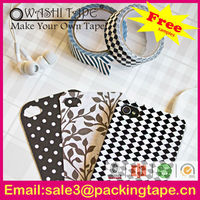 Colorful Japanese adhesive tape phone cover