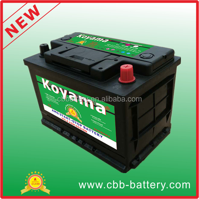 Top Quality DIN66 Start Stop Battery for Vehicle