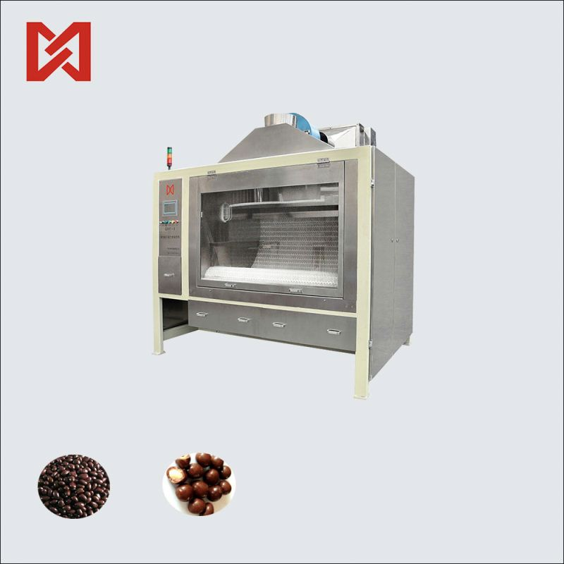 New techonology chocolate filling coating machine for sale