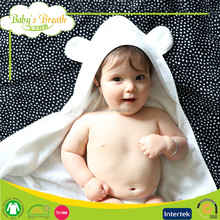 HT01 100% Bamboo Baby Hooded Towel 500 gsm