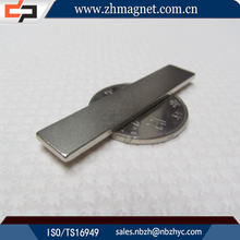 customed Ndfeb strip magnets block shape magnet used in fridge