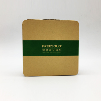 Factory Price Eco friendly Recycled Natural Kraft Folding Paper Box