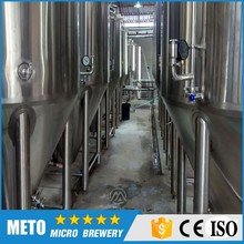 1500L Large Model brewing machinery turnkey plant Turnkey/customerized beer producing line of wheat/barley raw material