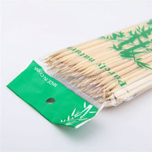 Decorative bamboo finger picks for fruit