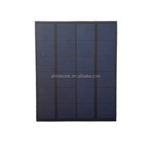 custom made 12v 2.5w poly solar panel