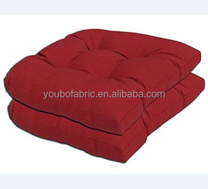Rust Red Color Garden Patio Sofa Seat Pad Indoor/Outdoor Chair Cushion Squared