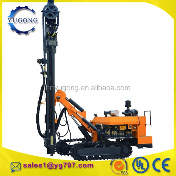 Hot sale wide performance crawler type down the hole drilling machine cost