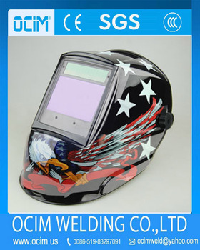 animal welding helmet decals with ventilation