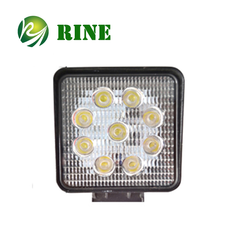 Factory Hot Selling 4 Inch Spot Flood Beam Led Driving Light 27W Led Offroad Work Light For Jeep SUV ATV BUS Trucks