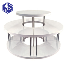 Clothing display rack clothing round table for sale
