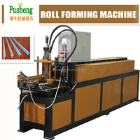 PUSHENG Stainless steel profile making machine with hydraulic cutter