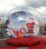 Giant Christmas inflatable snow ball for decoration C1008