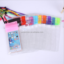 design 5.5 inch pvc cooler bag for phone waterproof bag