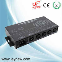 High quality four channels DMX signal distributor