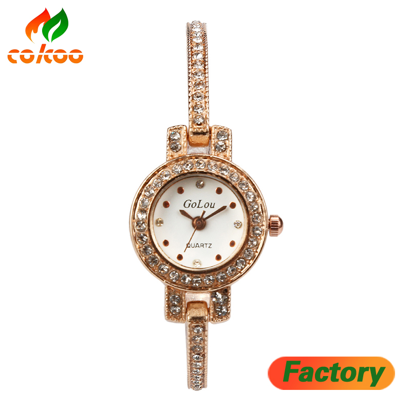2017 New <strong>HOT</strong> Women's watches Stainless Steel Quartz bracelet wristwatches women ladies dress watch