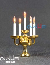 1:12 scale Dollhouse Miniature toys Lights, miniature lamps 12V LED QW21041