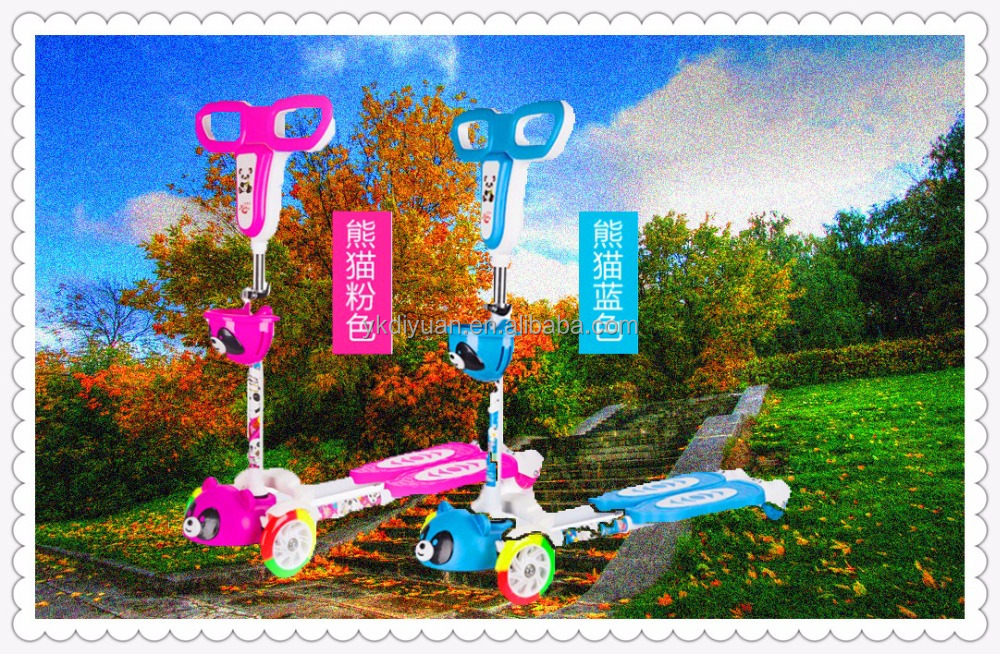 OEM design speed scooter swing scooter baby kick scooter