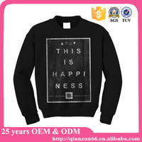 2015 sport custom fleece men pullover hoodies with pocket