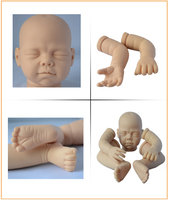 2015 toy doll silicone dolls child/silicone reborn baby doll kit for sale/full body silicone doll kits