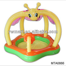 Inflatable baby toys,2013 best inflatable honeybee baby floating pool