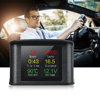 2018 New Arrival Multi Function OBD2 Car Trip Computer Auto Diagnostic Fault Code Tool OBD Digital Speed RPM Meter Display