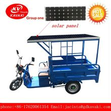 China Supplier custom Electro-tricycles/three Wheel Electric Vehicle/cargo Delivery Electric Tricycle with solar panel