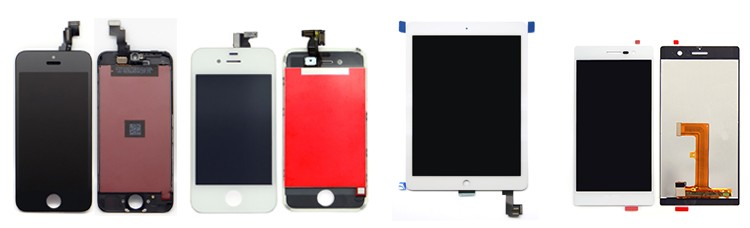 New mobile phone screen with frame for htc one E9+ lcd digitizer assembly