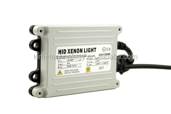 55w stabilizer ultra-thin auto xenon lamp ballast xenon lamp car accessories high brightness single